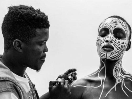 Photographer:web   Laolu Senbanjo  for Beyonce's Sorry