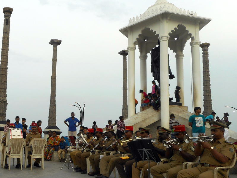 Photographer:aswathi | Puducherry Police Brass Band
