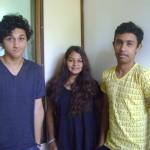 Arun, Noemie, Arjunan