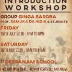 Capoeria workshop 15th 16th