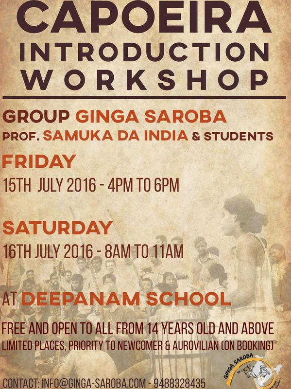 Photographer:Nela | Capoeria workshop 15th 16th