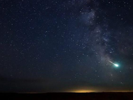 Photographer:David S. Brown | Delta meteorid shower from 12th - peaks 28th, 29th