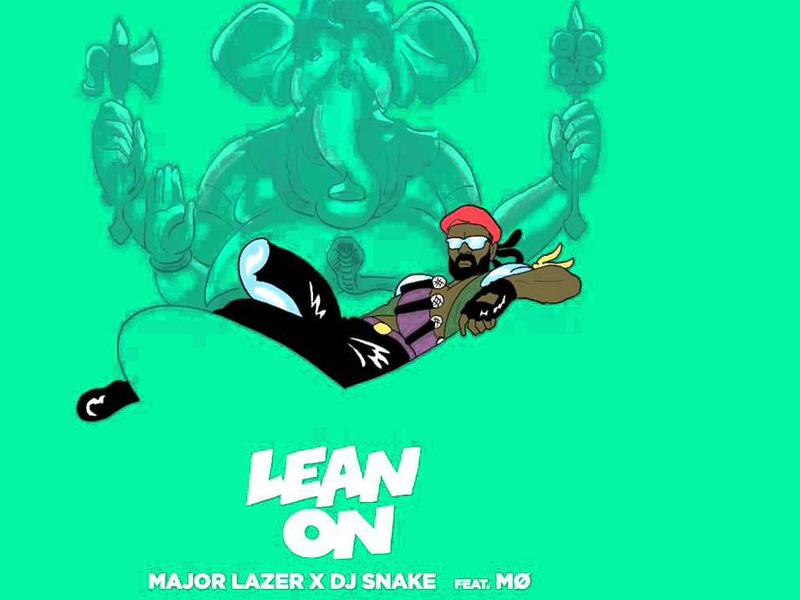 Photographer:web   Major Lazer & DJ snake  Lean on
