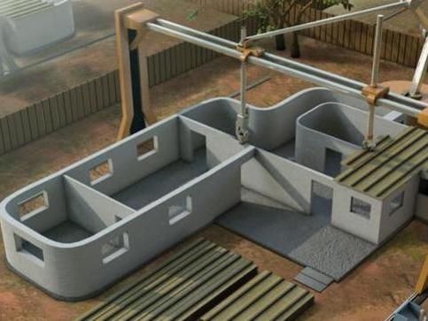 Photographer:web | 3D printing of affordable houses (China)