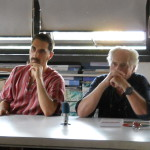 Giacomo  and Juergen share the discussion panel