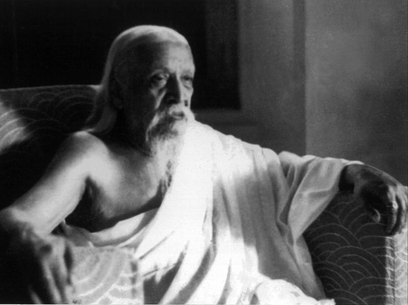 Photographer:Cartier Bresson | Sri Aurobindo, 24/4/1950