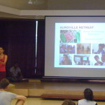 Kavitha talks on history of Youth Link
