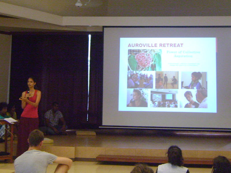 Photographer:Danesh | Kavitha talks on history of Youth Link