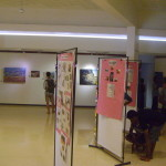 exhibition of art made by AV and bioregion youth