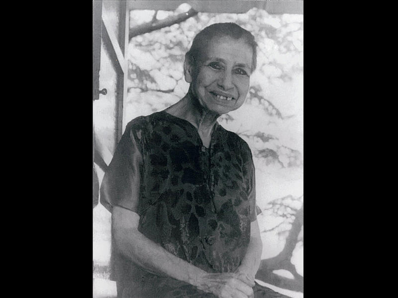 Photographer:Ashram Archives | Mother 1959 - 1960