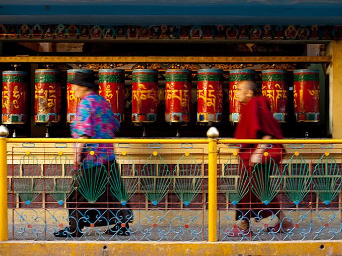 Photographer:Alma | Tibetan praying wheels