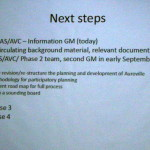 Follow up GM on re-structuring of new TDC