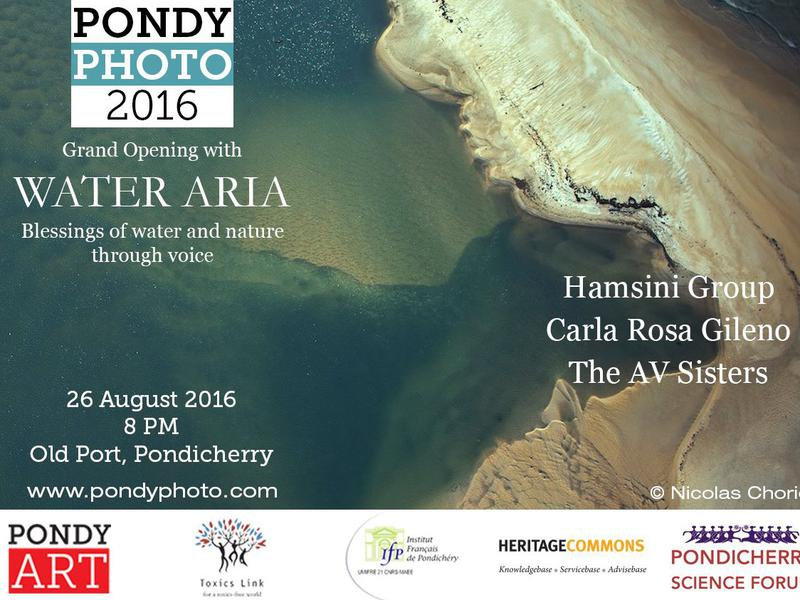 Photographer:web   PondyPhoto 2016 from 27.9. - 11.9. at Pondicherry Old Port