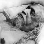 Sri Aurobindo, Mahasamadhi Photo, 5/12/50, the day he left the body.