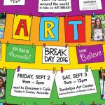 ARt Break Day - Art is Moving , global event
