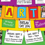 ARt Break Day on Friday 2nd at Dremaes Cafe at VC