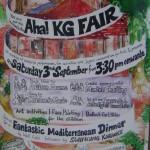AHA kindergarden Fair