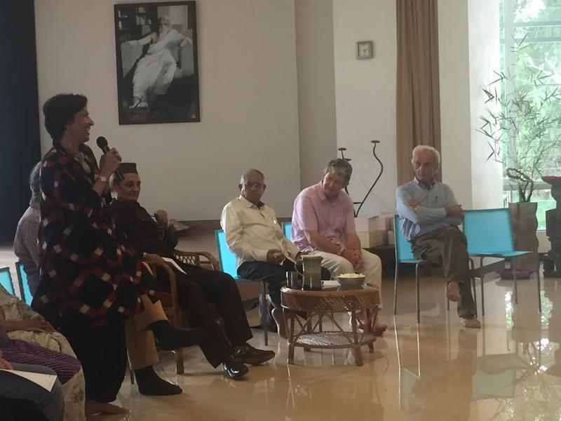 Photographer:Apoorva | Mallika Sarabhai at the GB meeting
