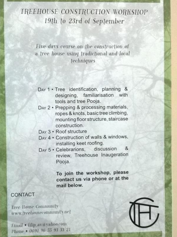 Photographer:web   Tree house workshop