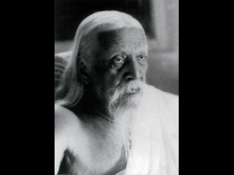 Photographer:Cartier Bresson   Sri Aurobindo - 23/4/50