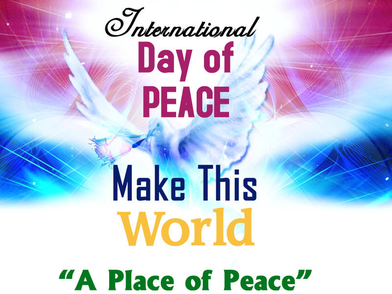 Photographer:web | World Peace Day 21st Ssptember