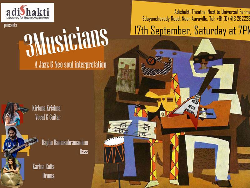 Photographer:web | Adishakti- Jazz concert on Saturday 17th of Spetmeber at 7pm