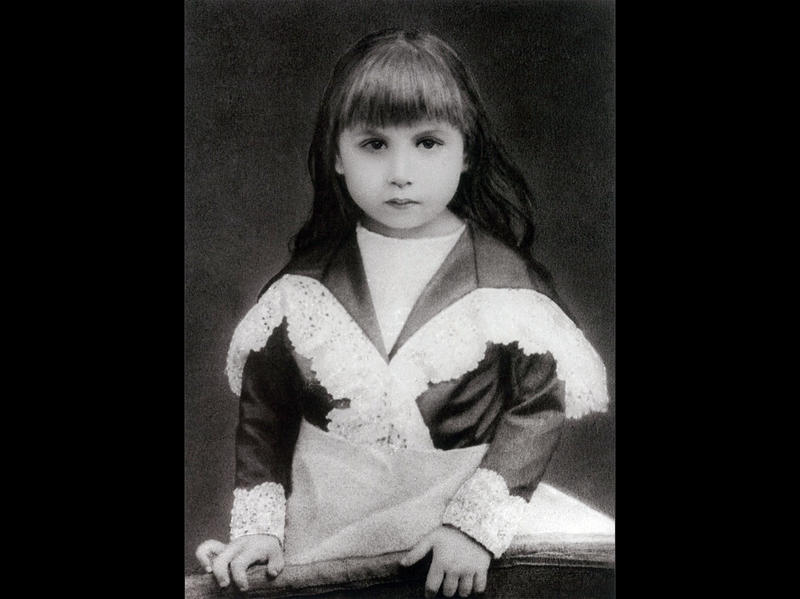 Photographer:Ashram Archives | Mother When She Was Seven Years Old