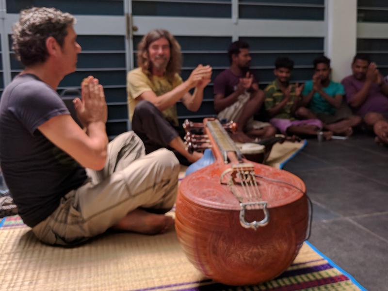 Photographer:steve | Chinmaya Dunster (sarod) & Ray Barelli (Carnatic veena)