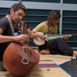 Chinmaya Dunster (sarod) & Ray Barelli (Carnatic veena)