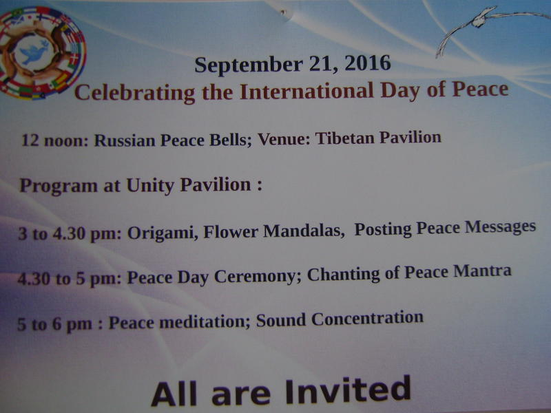 Photographer:web | International  Day of Peace