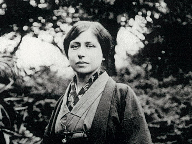 Photographer:Ashram Archives | Mother in Japan, 1915 -1920