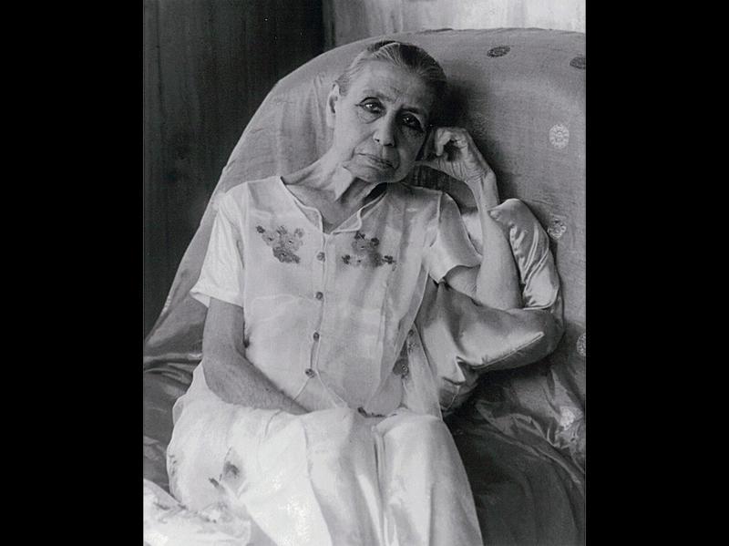 Photographer:Ashram Archives | Mother - 1959/61