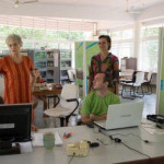 SAVI's offcie in Unity Pavilion, International Zone