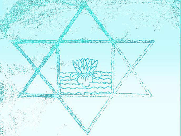 Photographer:web | Sri Aurobindo symbol