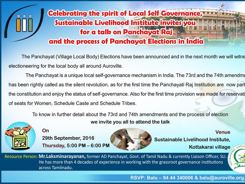 Photographer:web | SLI talk on panchayat elections