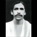 Sri Aurobindo - 1911 - The first photograph of Sri Aurobindo taken after his arrival in Pondicherry.