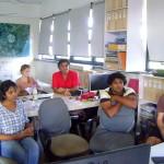 Participants of the conversation at CIRHU, TownHall