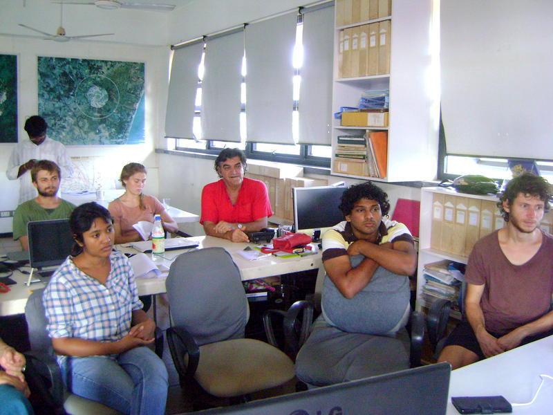 Photographer:Stephen Anurag P | Participants of the conversation at CIRHU, TownHall