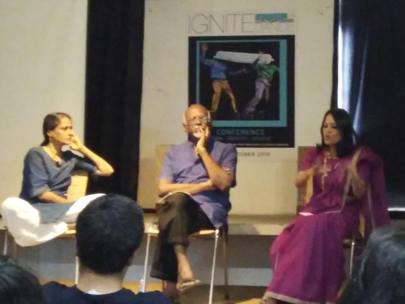 Photographer:www.IgniteDanceFestival.com   Panel Discussion at Ignite Festival New Delhi