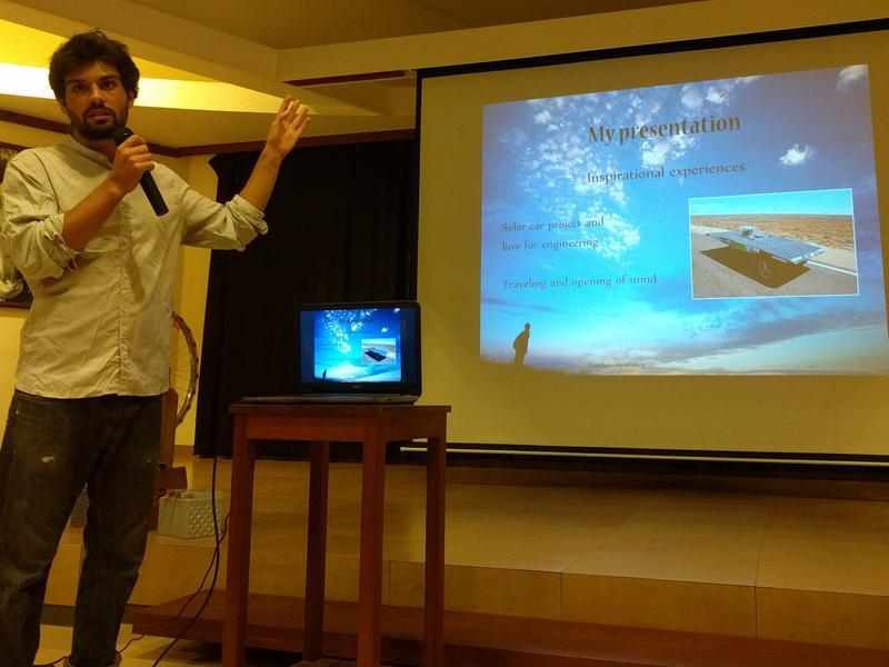 Photographer:steve   Tony Radet presentation