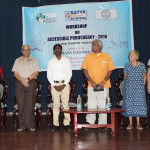 Distinguished Speakers of the Workshop at CCC Hall Pondicherry University