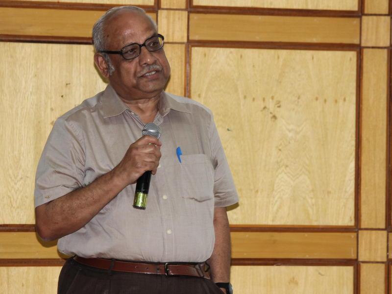 Photographer:Ram Prasanth | A speaker of the workshop
