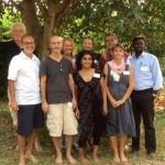 FAMC  members (from left to right): Yuval, Chandresh, Lyle, Stephanie, Bindu, Chali, Ulli, Amy, Prabhu