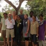 Auroville Council (from left to right): Marc, Martin, Sandhyra, Mita, Matriprasad, Enrica, Ami, Sundar, Elisa, Renuka