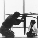 George Nakashima with one of his children