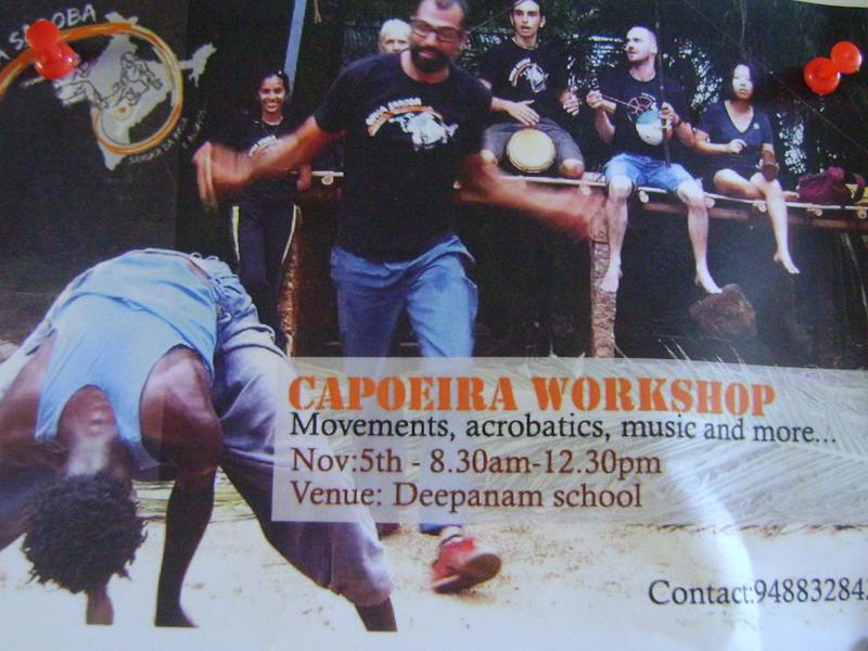 Photographer:Lana | Capoeria workshop on Saturday 5th
