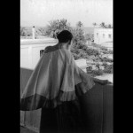 Mother, Giving Terrace Darshan , 21/2/65