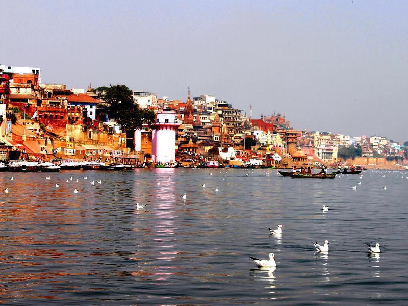 Photographer:web | Benares (Varanais)on Ganga