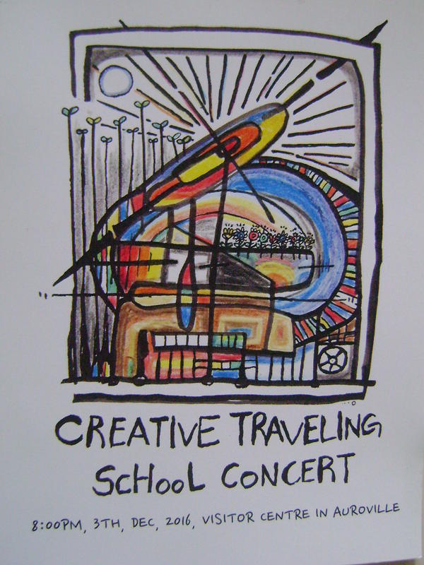 Photographer:web | Creative Travelling School Concert, Saturday 8pm at VC