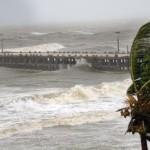weather forecast - heavy rain, winds